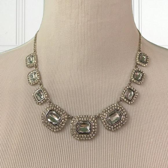 Charming Charlie Jewelry - $$$NWT Charming Charlie Silver Rhinestone Necklace